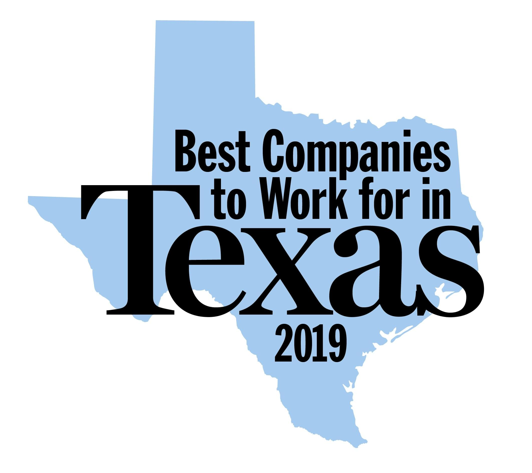 Best Companies to Work for in Texas - 2019